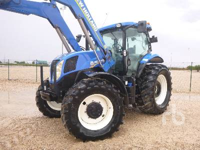 2014 NEW HOLLAND T7.210 MFWD Tractor