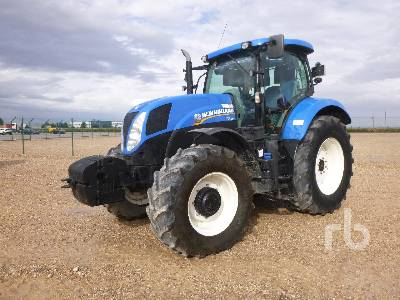 2015 NEW HOLLAND T7.185 MFWD Tractor