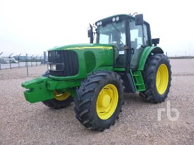 2004 JOHN DEERE 6520 MFWD Tractor