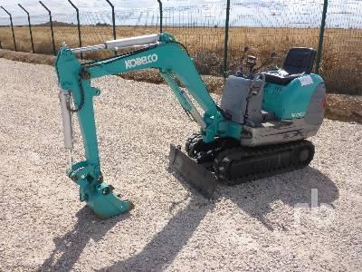 KOBELCO SK007 Mini Excavator (1 - 4.9 Tons)