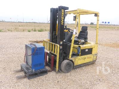 2001 HYSTER J1.60XMT Electric Forklift