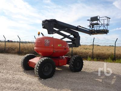 2001 MANITOU 150ATS 4x4 Articulated Boom Lift