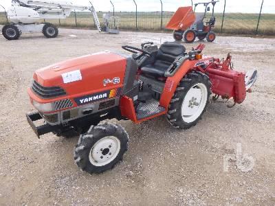 YANMAR F6 4WD Utility Tractor