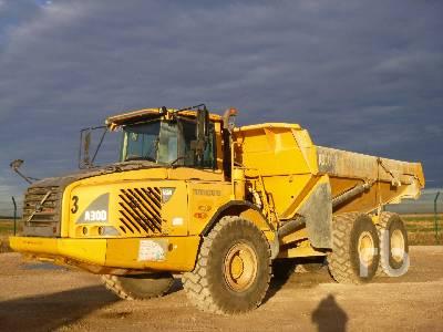 2007 VOLVO A30D 6x6 Articulated Dump Truck