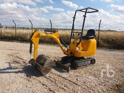 2008 JCB 8008 Mini Excavator (1 - 4.9 Tons)