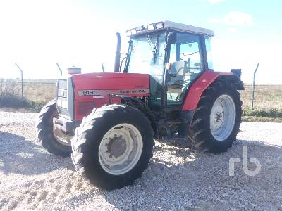 1996 MASSEY FERGUSON 6180 MFWD Tractor
