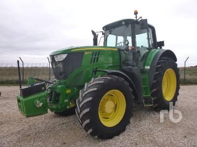 2013 JOHN DEERE 6170M MFWD Tractor