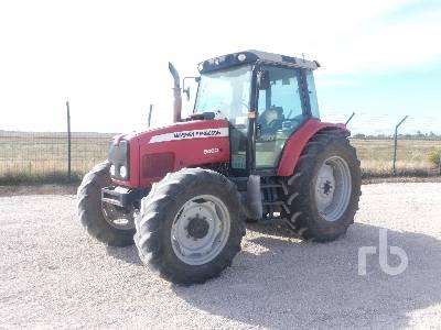 2005 MASSEY FERGUSSON MF 5460 4RM MFWD Tractor