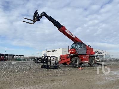 2017 MANITOU MRT2550 Privilege 5000 Kg 4x4x4 Telescopic Forklift