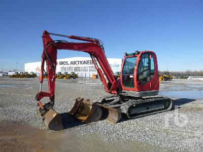 2012 JCB 8085 Midi Excavator (5 - 9.9 Tons)