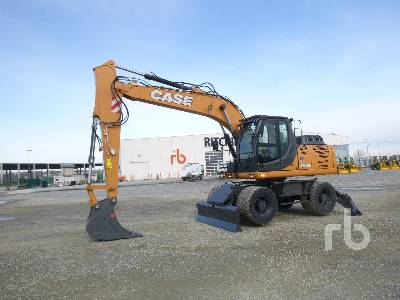 Unused 2019 CASE WX168B 4X4 Mobile Excavator