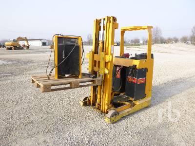 1990 JUNGHEINRICH ETVA 12.5 1250 Kg Electric Forklift