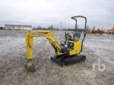 2012 NEW HOLLAND E10SR Mini Excavator (1 - 4.9 Tons)