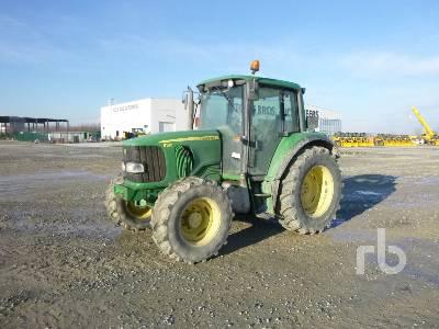 2002 JOHN DEERE 6120 MFWD Tractor