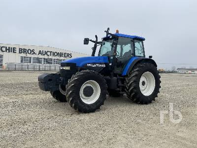 2001 NEW HOLLAND TM165 MFWD Tractor