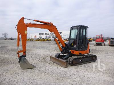 2007 HITACHI ZX50U-2 CLR Mini Excavator (1 - 4.9 Tons)