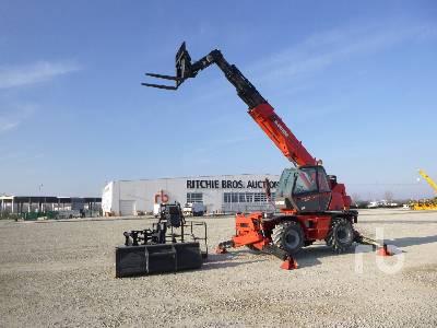 2008 MANITOU MRT1842 4200 Kg 4x4x4 Telescopic Forklift