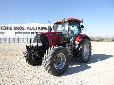 2010 CASE PUMA 140 MFWD Tractor