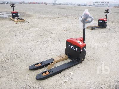 Unused 2019 HELI CBD15-170J 1500 Kg Electric Pallet Jack