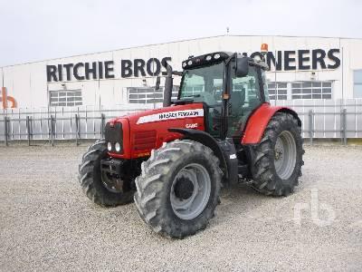 2006 MASSEY FERGUSON 6480 DYNA 6 MFWD Tractor