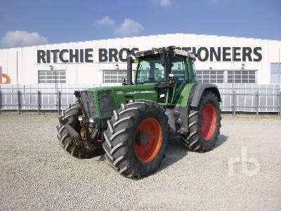 1999 FENDT FAVORIT 824 MFWD Tractor