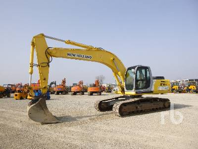 2006 NEW HOLLAND E305 Hydraulic Excavator