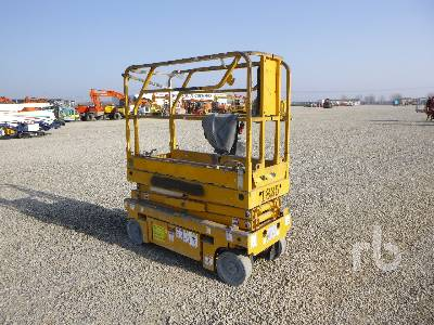 2008 HAULOTTE OPTIMUM 8 Electric Scissorlift