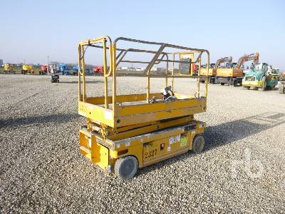 2009 HAULOTTE COMPACT 8W NT Electric Scissorlift Parts/Stationary Construction-Other