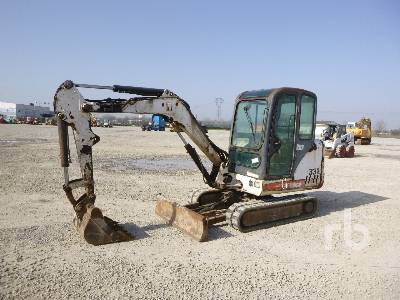 2004 BOBCAT 331G Mini Excavator (1 - 4.9 Tons)
