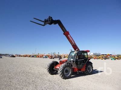 2013 MANITOU MLT741 Telescopic Forklift