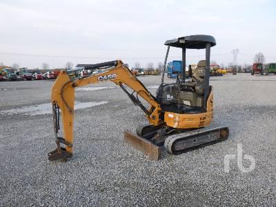 2014 CASE CX26BC Mini Excavator (1 - 4.9 Tons)