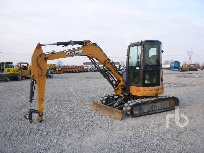 2016 CASE CX50B Mini Excavator (1 - 4.9 Tons)