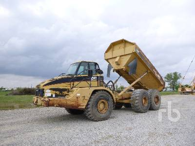 2002 CATERPILLAR 740 6x6 Articulated Dump Truck