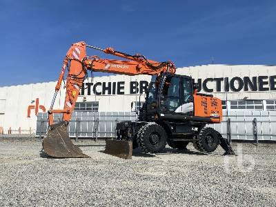 2017 HITACHI ZX190W-6/E Mobile Excavator