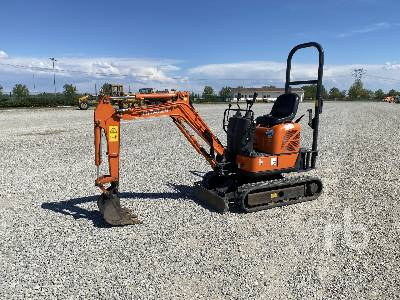2017 HITACHI ZX10U-2 YSR Mini Excavator (1 - 4.9 Tons)