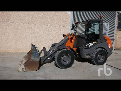 2018 HITACHI ZW95 Wheel Loader