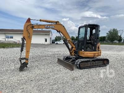 2014 CASE CX55B Midi Excavator (5 - 9.9 Tons)