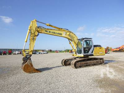 2008 NEW HOLLAND E245B Hydraulic Excavator