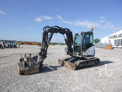 2018 MECALAC 6MCR Midi Excavator (5 - 9.9 Tons)