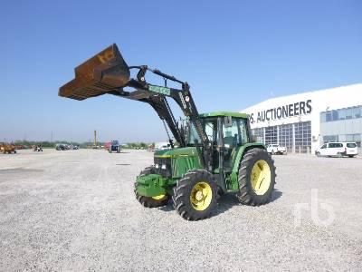 1999 JOHN DEERE 6400AS MFWD Tractor