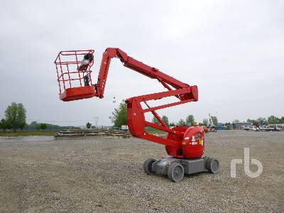 2007 MANITOU 150AETJC Electric Articulated Boom Lift