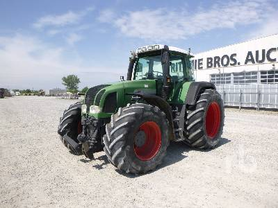 2003 FENDT FAVORIT 926 VAR MFWD Tractor