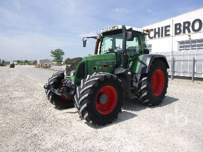 2003 FENDT 818 VARIO TMS MFWD Tractor