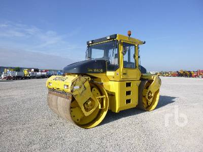 2003 BOMAG BW184AD Tandem Vibratory Roller