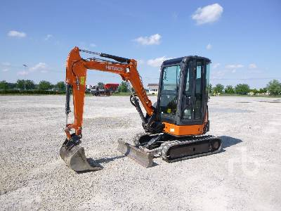 2014 HITACHI ZX29U-3 CLR Mini Excavator (1 - 4.9 Tons)