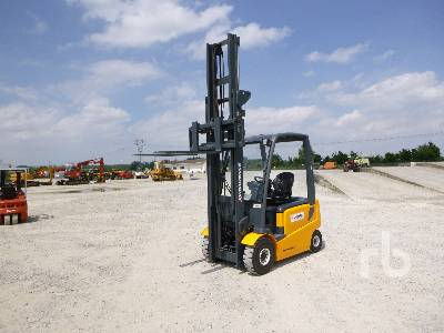 2011 JUNGHEINRICH EFG425K 2500 Kg Electric Forklift