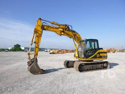 2002 JCB JT130 Hydraulic Excavator