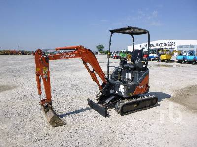 2010 HITACHI ZX17U-2 YLR Mini Excavator (1 - 4.9 Tons)