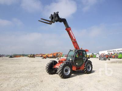 2010 MANITOU MLT735LSUCL Telescopic Forklift