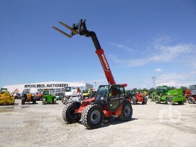 2013 MANITOU MLT741-120H Telescopic Forklift
